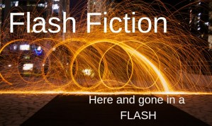 Flash Fiction, Here and gone in a flash.