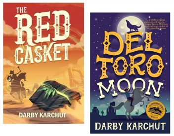Covers of The Red Casket and Del Toro Moon