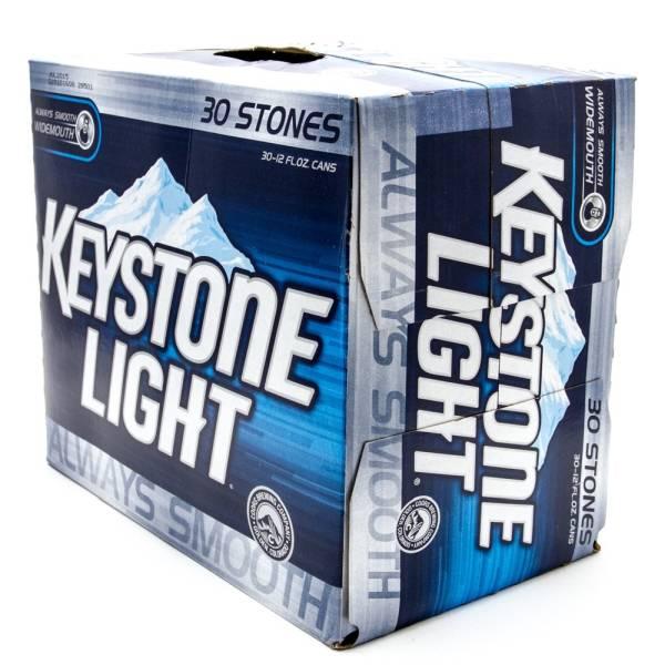 keystone light 12oz can 30 pack