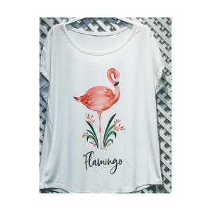 camiseta con flamenco