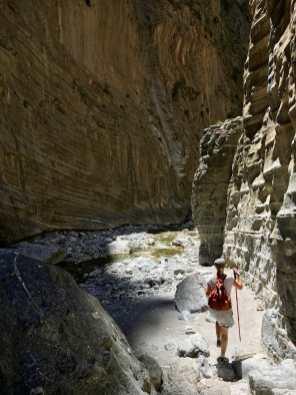 Upeita maisemia Samariassa riittää.