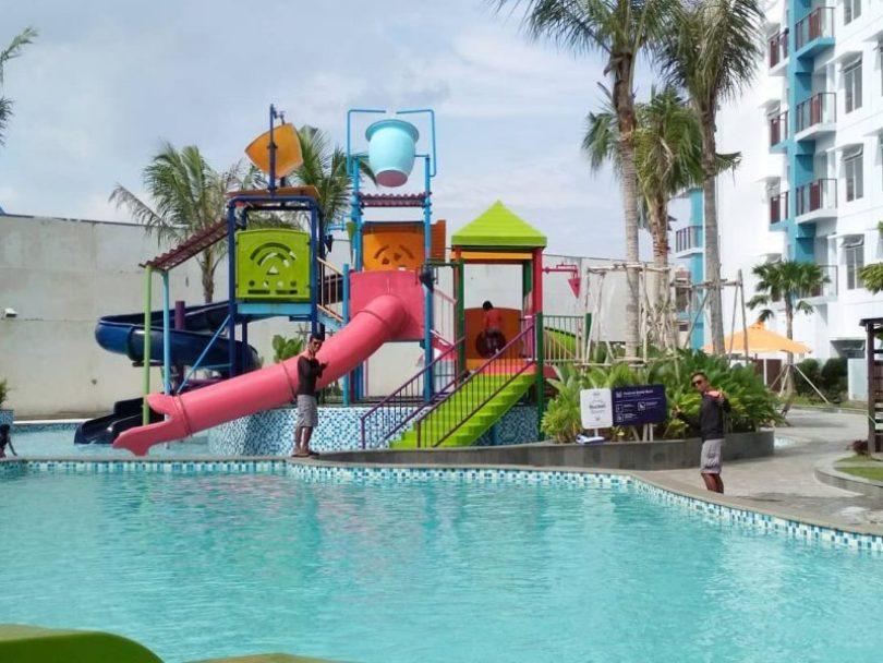 fasilitas bermain anak aqua boom waterpark balikpapan