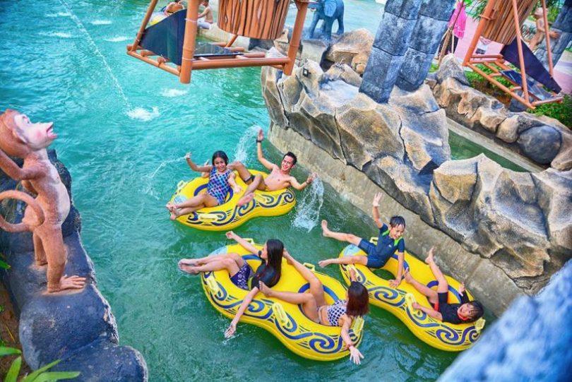 kolam renang wonderland adventure waterpark karawang