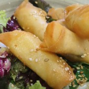 comida; Aluche; Madrid; Restaurante; Gastronomía; Comer en Madrid; cocina de mercado; Sidrería Pikondo; comer bien; dónde comer en Aluche; ensalada; queso majorero; vinagreta de miel y mostaza;