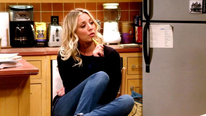 Kaley Cuoco as Penny, one of the actresses better paid of 2019 (Photo: CBS).