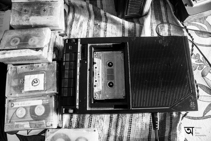 Durga Puja 2014 - cassette recorder