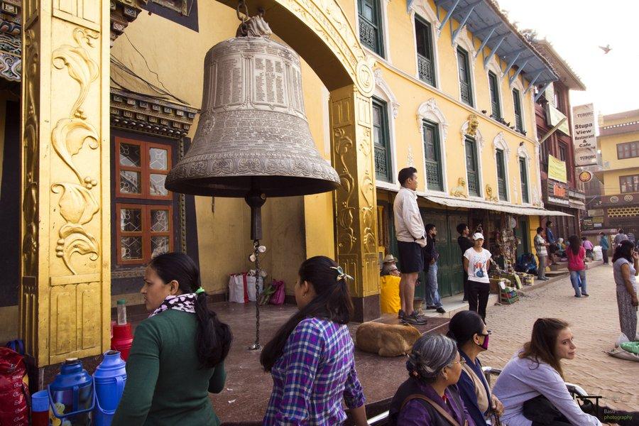 Tamang Gompa Boudhanath Stupa