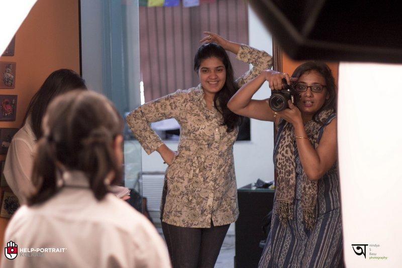 Help Portrait kolkata 2014 behnd the scenes and teh fun