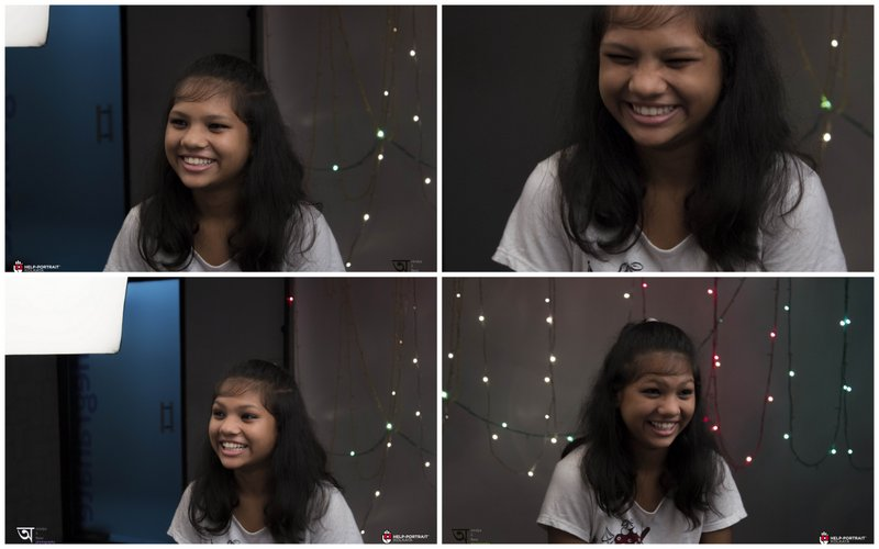Help Portrait Kolkata 2014 - The girl with million dollar smile