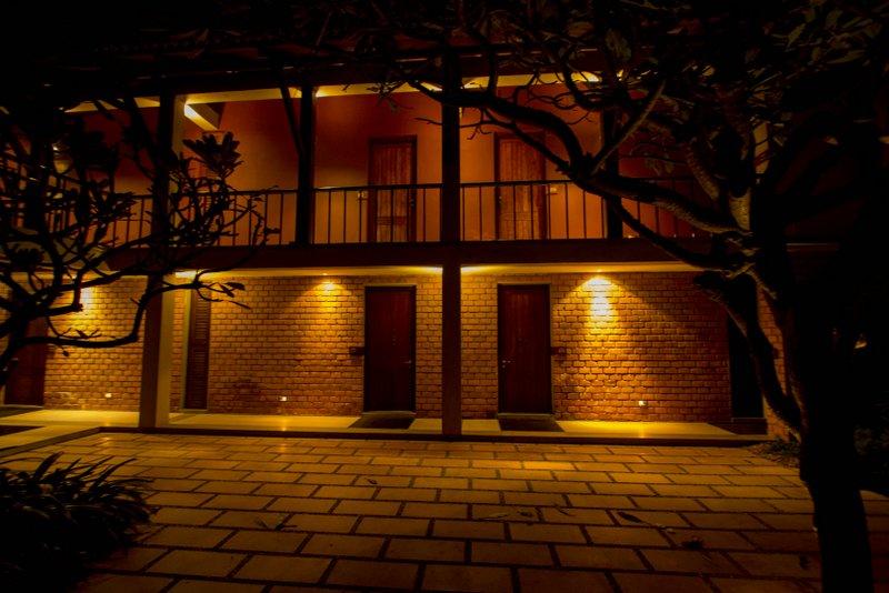 Ganga Kutir kolkata cottages in night