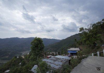 The way to World Peace Pagoda Pokhara