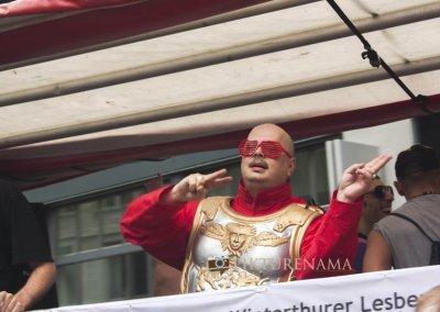 Zurich Bahnhofstrasse LGBT Parade dance moves of ecstasy
