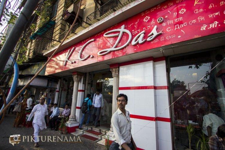 Legendary K C Das shop in 10 best sweet shops in kolkata by pikturenama