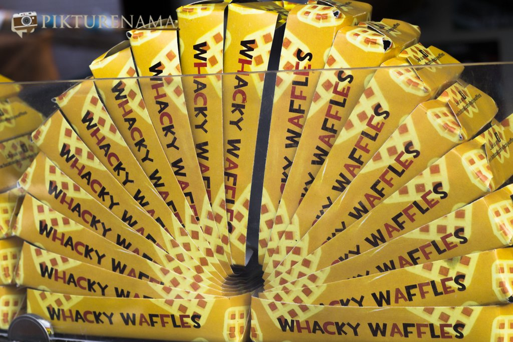 Dessert Kiosk Whacky Waffles the firsy dedicated waffles store in Kolkata
