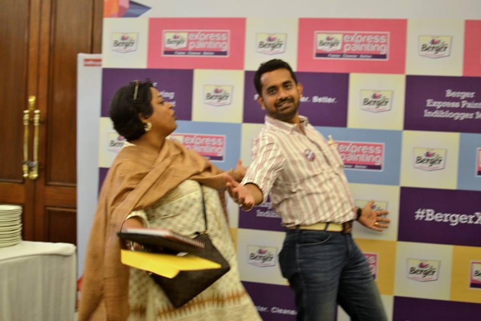 Berger Paints present Indiblogger Kolkata meet 16