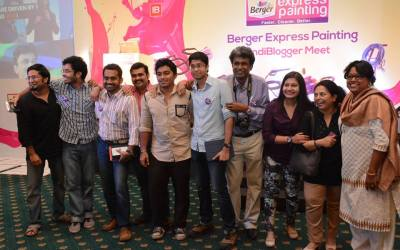 Indiblogger BergerXp Kolkata bloggers meet 2015 – It was one of those Saturdays