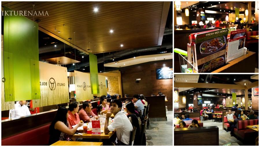 Chili's at South City Mall Kolkata Interiors
