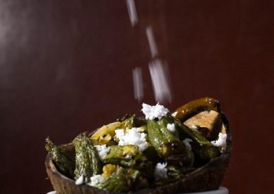 Aam Kasundi Bhindi or Okra in mango mustard sauce by Pikturenama 5