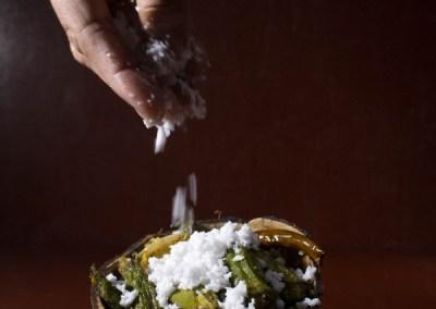 Aam Kasundi Bhindi or Okra in mango mustard sauce by Pikturenama 7
