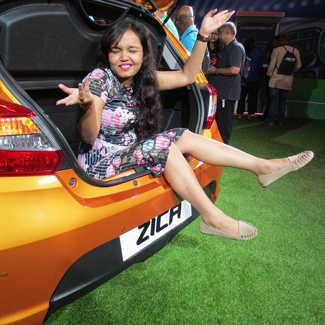 Tata Zica meet by Tata Motors and Indiblogger shayoni