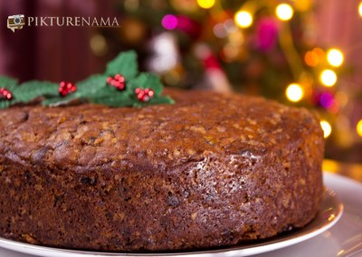 Eggless rich fruit cake 5