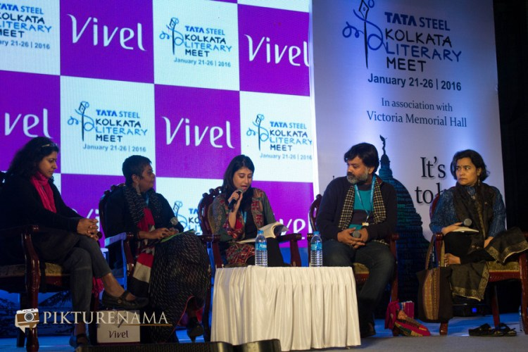 Vazira at Tata Steel Kolkata Literarury Meet day 2 Anam
