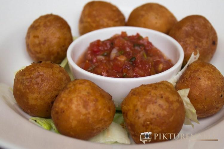 Corn Cheese Balls Mexo Italiana food by Casa Kitchen