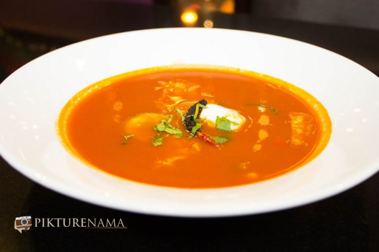Mexo Italiana food by Casa Kitchen Veg Tortilla Soup