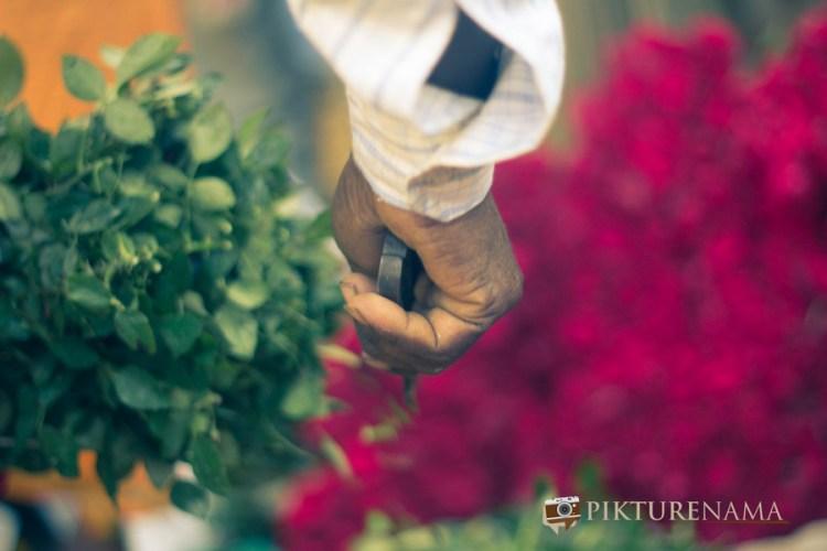 Mullick Ghat flower market Kolkata 2