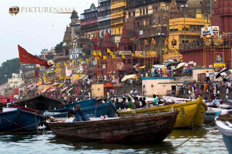 Varanasi Ghats Benaras Ghats in Morning 6