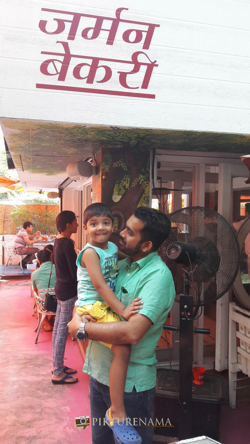 German Bakery Pune with Tugga