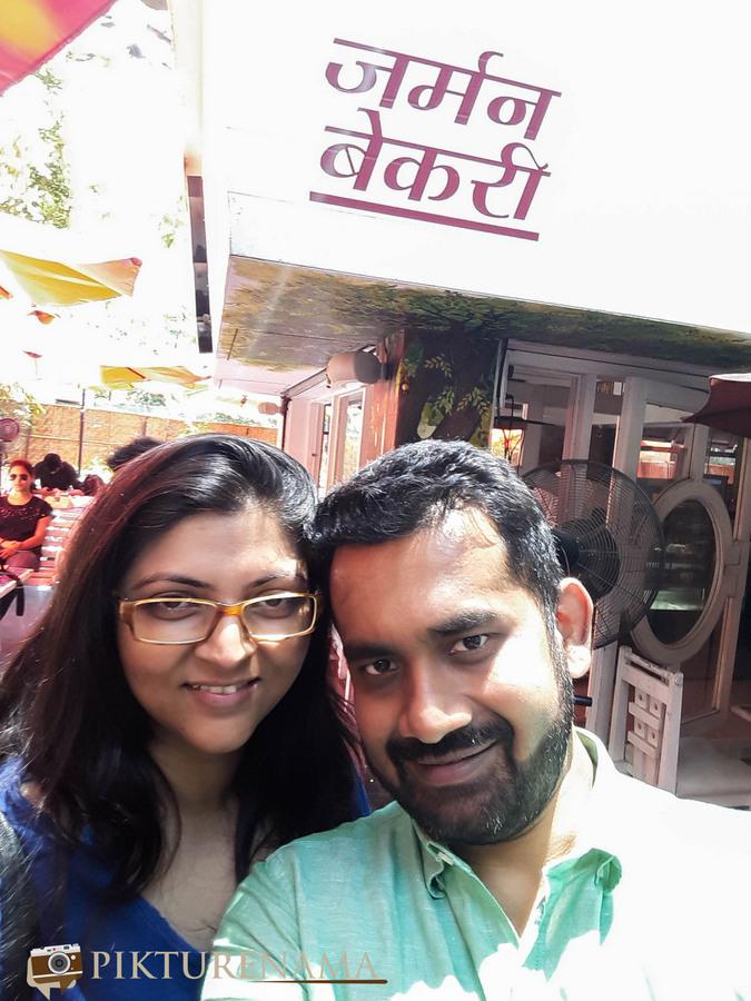 German Bakery Pune critic couple