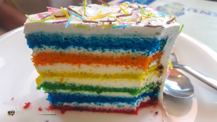 German Bakery Pune Rainbow cake