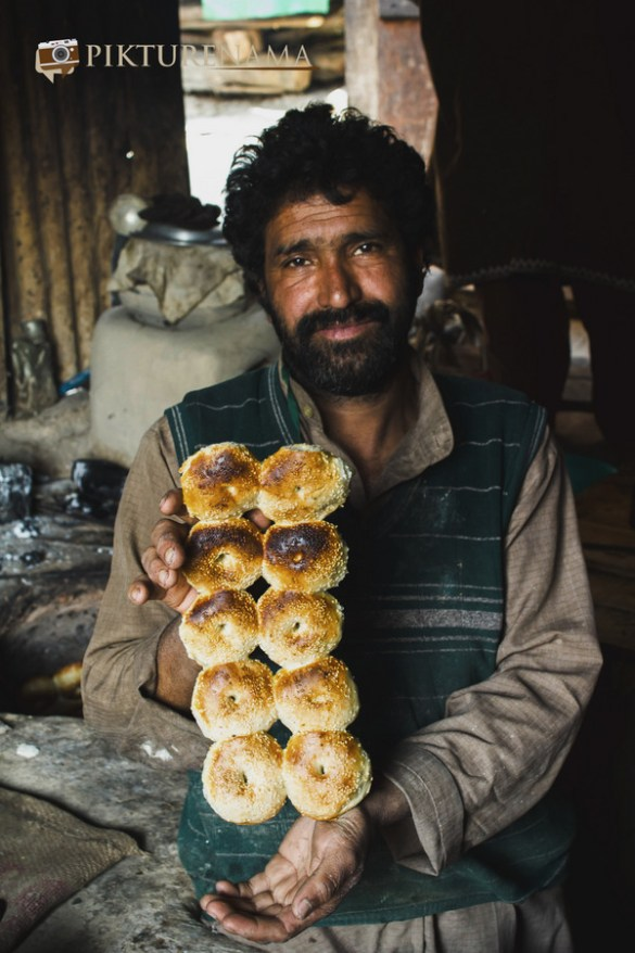 Kashmir home bakery breads are ready
