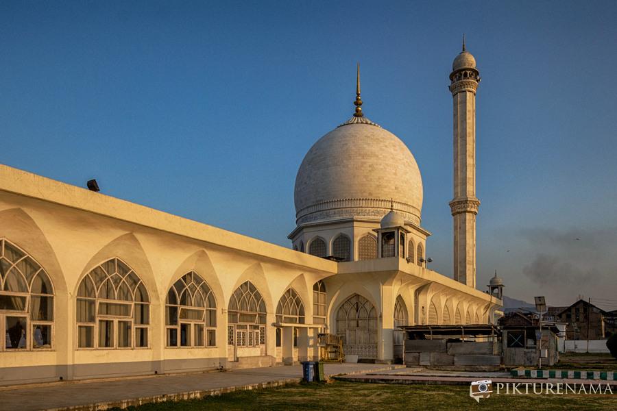 Hazratbal Srinagar all white