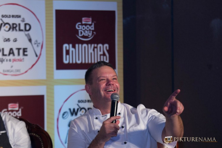 Rendezvous with Masterchef Australia Judges Gary with crowd