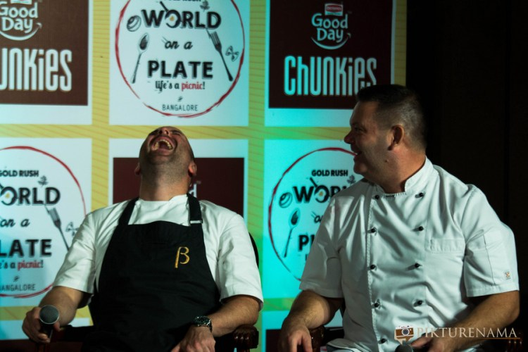 Rendezvous with Masterchef Australia Judges laughing