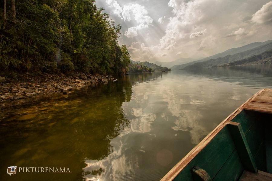 Phewa Lake Pokhara boat ride - 7