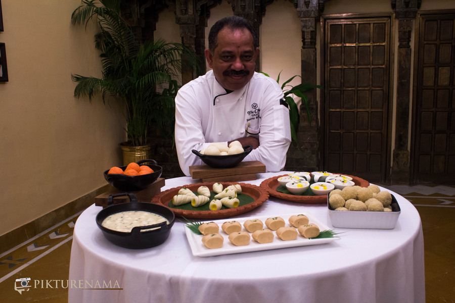 xecutive chef Oberoi Grand Kolkata Pujor Menu