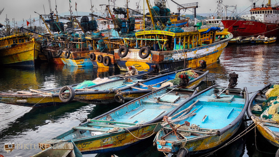 Vizag fishing harbour 12