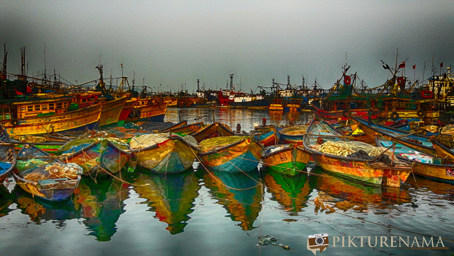 Vizag fishing harbour 21