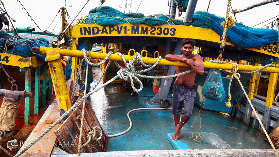 Vizag fishing harbour 3
