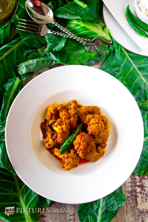 Phulkopi roast or Cauliflower roast 1