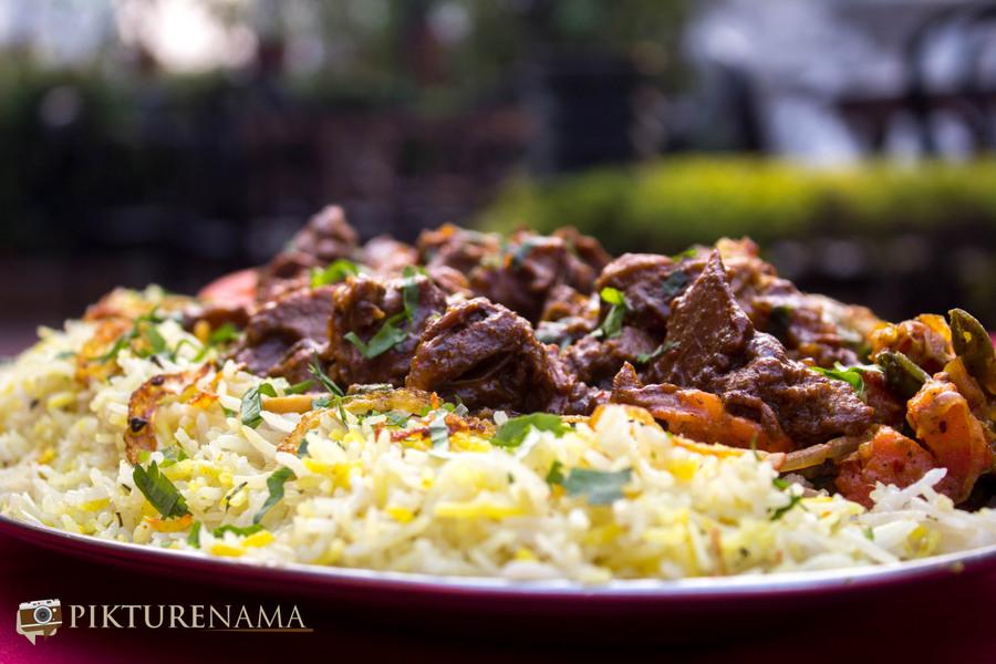 Abcos Food Plaza Kolkata ilaichi raan 2