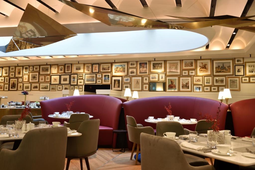Threesixtythree degrees Oberoi Grand KOlkata interiors 2