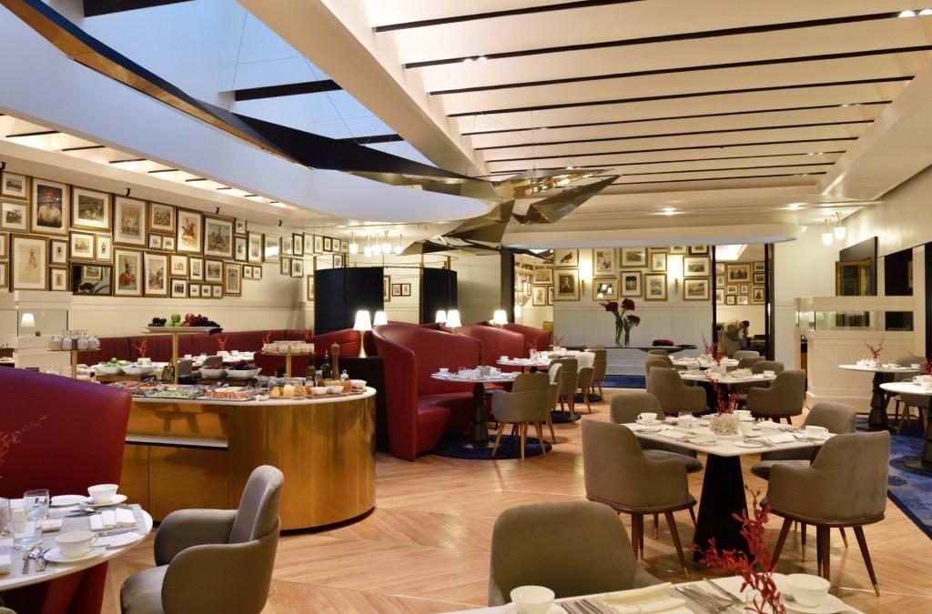 Threesixtythree degrees Oberoi Grand KOlkata Interiors 1