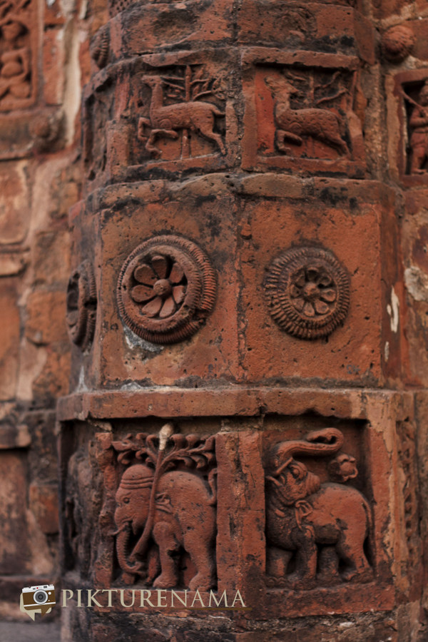 Bishnupur- Terracotta- work 3