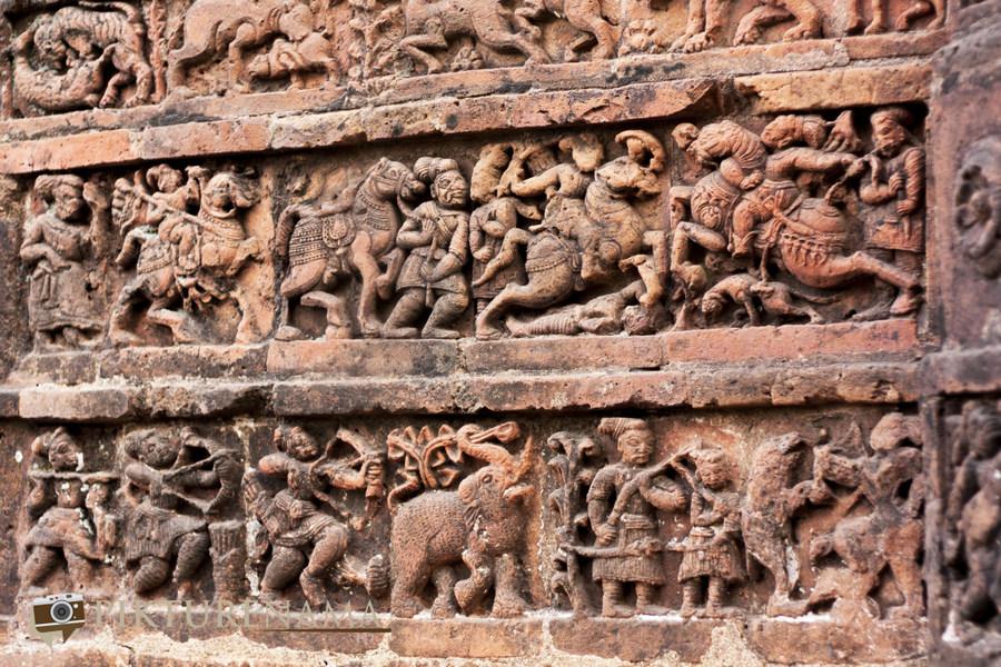 Bishnupur- Terracotta- work 2