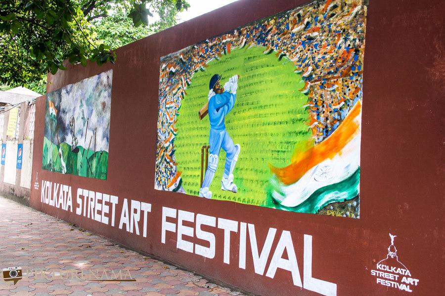 Kolkata Street Art festival 1