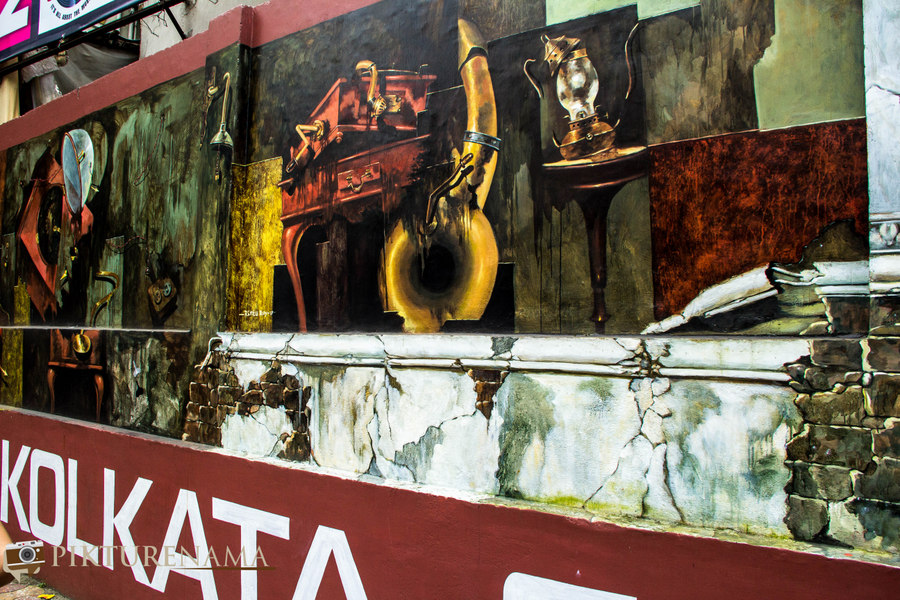 Kolkata Street Art festival 12